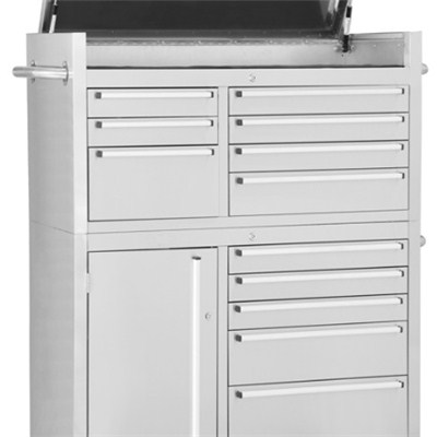 41 Inch Stainless Steel Tool Cabinet