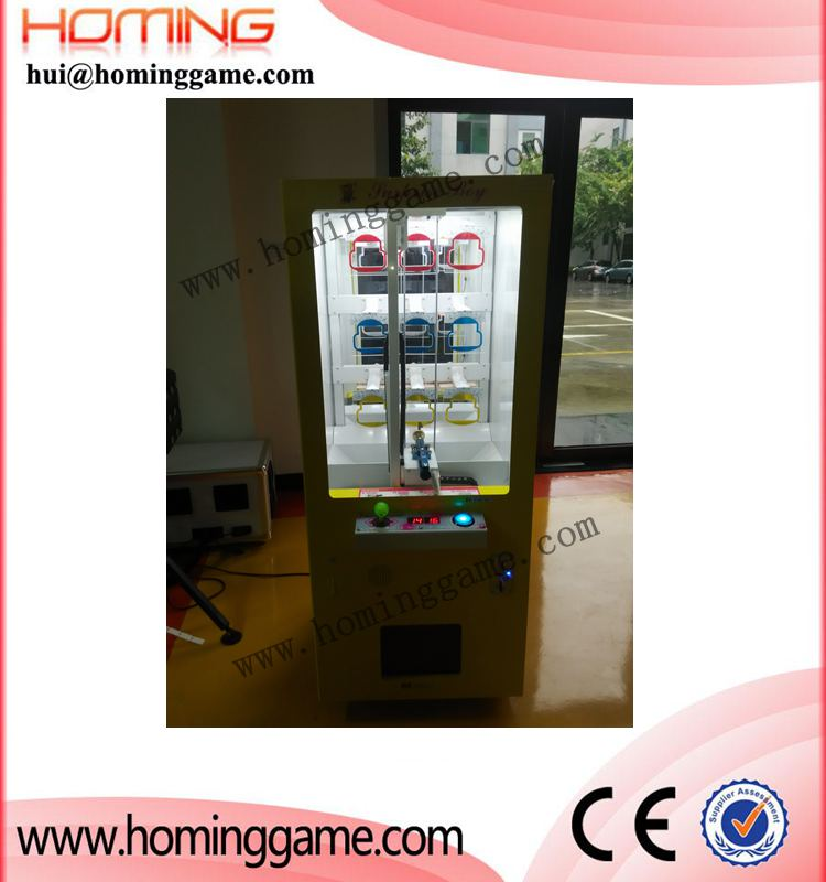 Made in chine coin operated golden key master game machine / mini key master vending