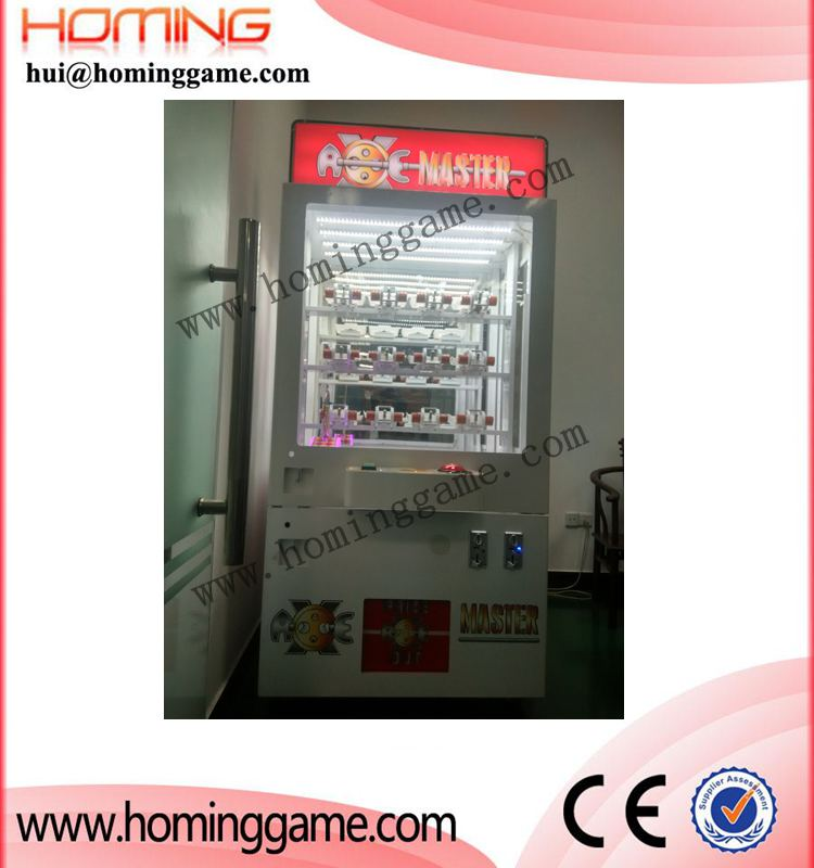 Prize coin operated game machine/Key master game machine(hui@hominggame.com)