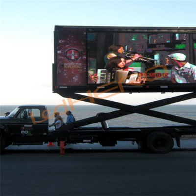 P8 Mobile Led Display Trailer