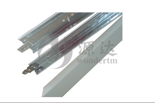 SUSPENSION CEILING T BAR/STEEL CEILING T GRID/CEILING GRID