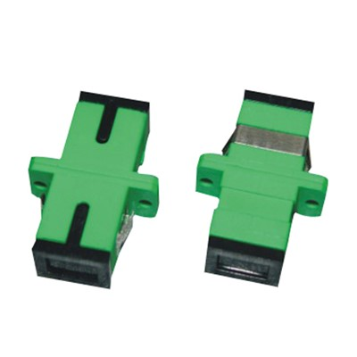 Singlemode Simplex SC/APC Type Fiber Optic Adapter