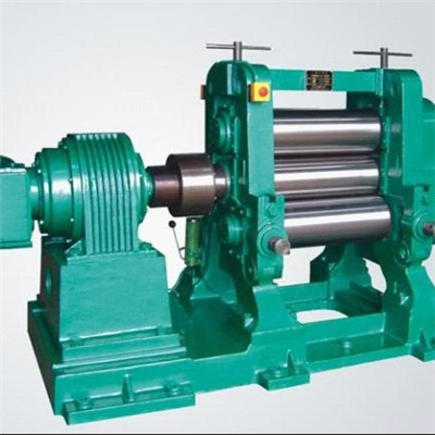 Three Roller Rubber Calender Machine