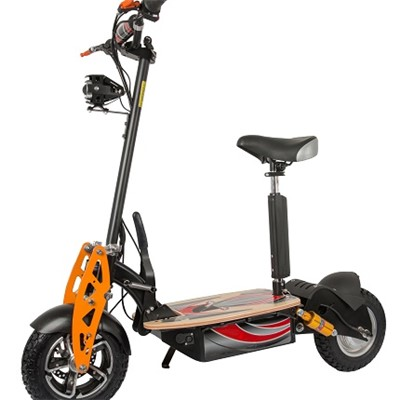 Electric Scooter With Saddle