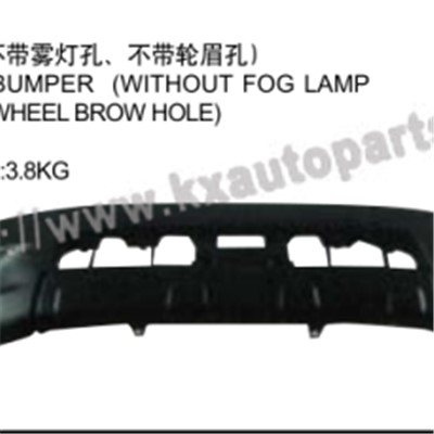 TOYOTA HILUX VIGO 2004-2007 FRONT BUMPER WITHOUT FOG LAMP HOLE WITHOUT WHEEL BROWHOLE