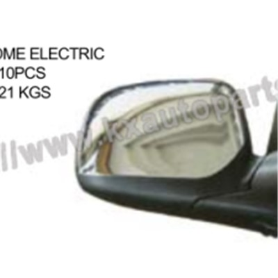 ISUZU D-MAX 2006 MIRROR CHROME ELECTRIC