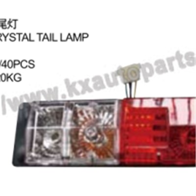 ISUZU D-MAX TRUCK CRYSTAL TAIL LAMP