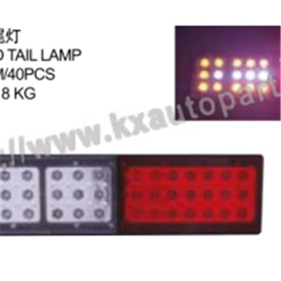 ISUZU D-MAX TRUCK LED TAIL LAMP