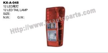 ISUZU D-MAX 2012 LED TAIL LAMP