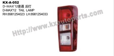 ISUZU D-MAX 2012 TAIL LAMP