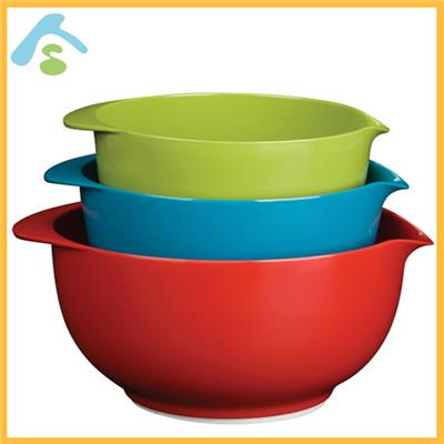 Sedex audit factory-melamine mixing bowl set ,salad bowls