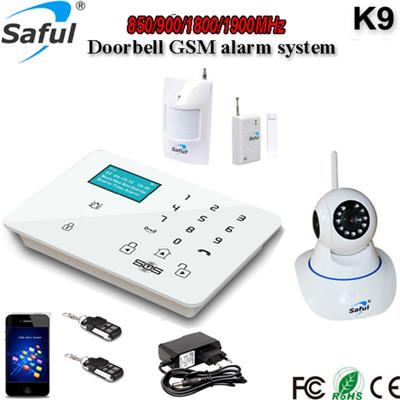 GS-K9 IP camera Doorbell Monitoring Alarm System By Smartphone