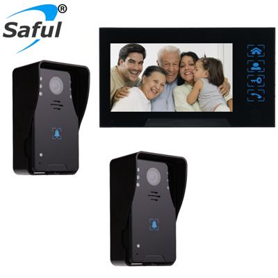 Wired Video Door Phone Intercom System