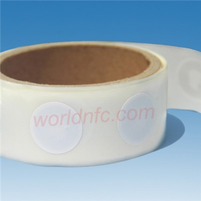 25mm Round Original Mifare S50 HF RFID Tag/Sticker