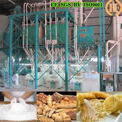 Ethiopia Wheat Mill 80T Per 24h