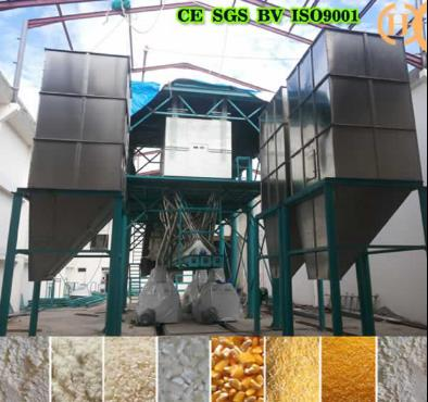 Benin Corn Processing Machine 150T Per 24h