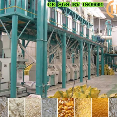Belize Corn Mill Machine 50T Per 24h