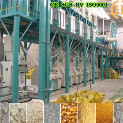 Sudan Maize Roller Mill 50T Per 24h