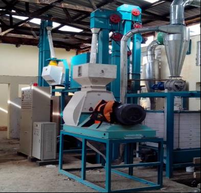 Ethiopia Maize Hammer Mill 30T Per 24h