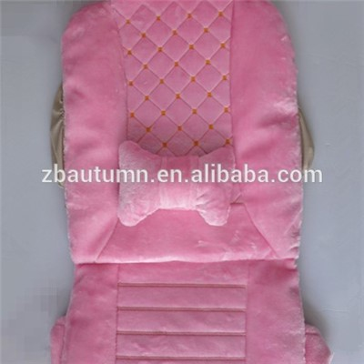 Velvet Car Seat Cushion