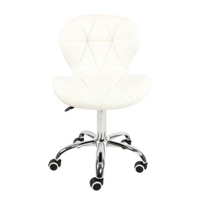 High Back Seat Swivel PU Leather Adjustable Salon Chair