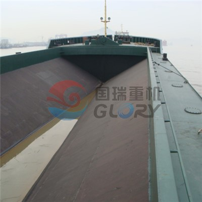 1600m³split hopper barge