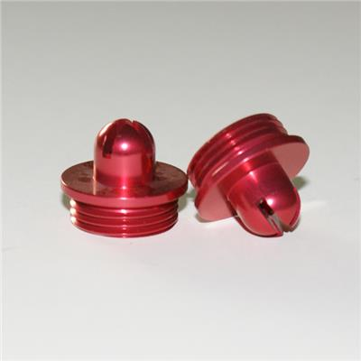 Red Anodized Aluminum Machining Parts