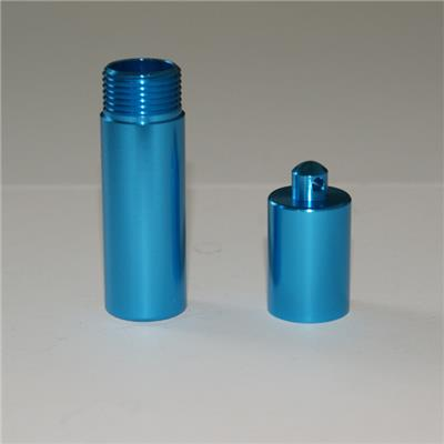 Aluminium Alloy Turning Parts Of Anodized