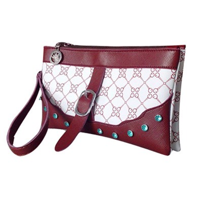 Printed PVC Leather Cosmetic Bag