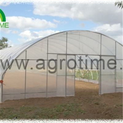 Side Ventilation Plastic Greenhouse