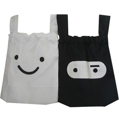 Lady With Smile Shopping Bag