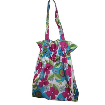 Large Roomy Lady Woman Colourful Printed Beach Bag