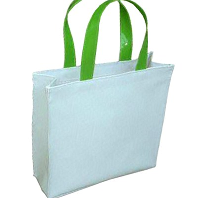Simple Large Roomy White Promotional Bag Tote Bag