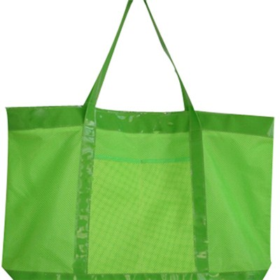 Large Mesh Beach Tote Bag