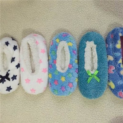 Sherpa Fleece Slippers In Special Printing