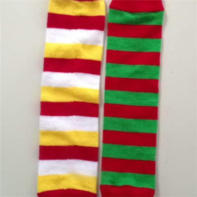 Women's Stripe Winter Leg Warmer