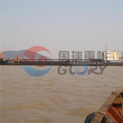 5500Tons Self loading and unloading sand barge