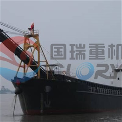 2100Tons Unloading sand barge