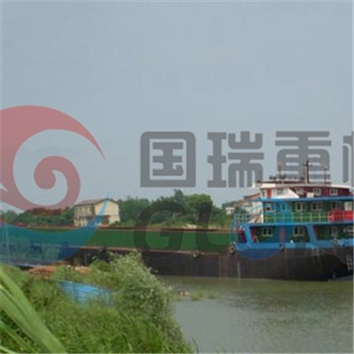 3500Tons Unloading sand barge
