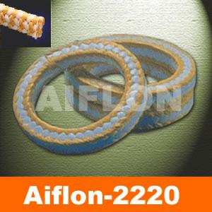 White PTFE & Aramid Packing (AIFLON 2220 AIFLON 2222)