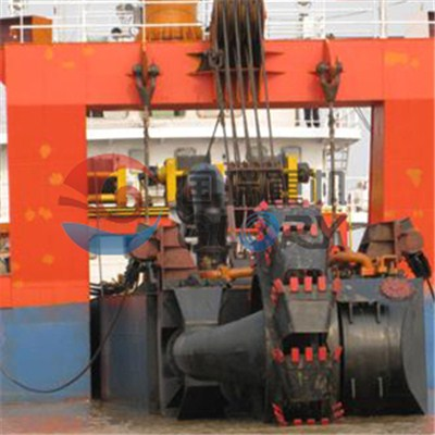 1800cum/h Cutter Suction Dredger