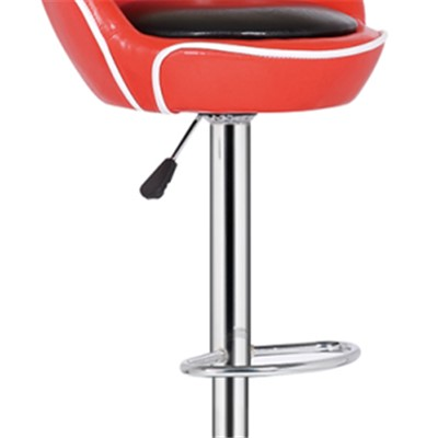 Swivel Bar Stool Leather High Chair