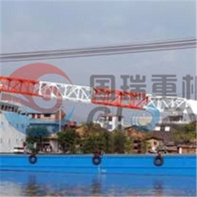 120Tons floating crane