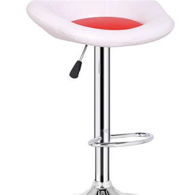 Flower Leather Bar Stool
