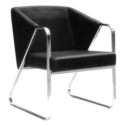 Home Use Leather Bar Chair With Backrest
