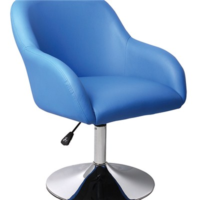 French Style Leather Bar Chair With Armrest