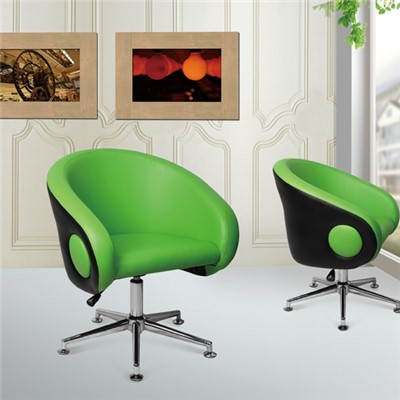 Synthetic Leather Bar Chair With Five Star Feet