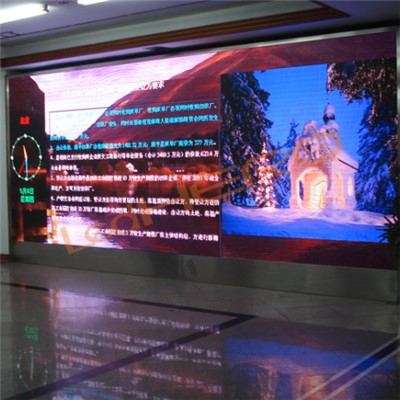 P7.62 Indoor Video Wall
