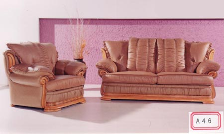 Сollection of leather furniture