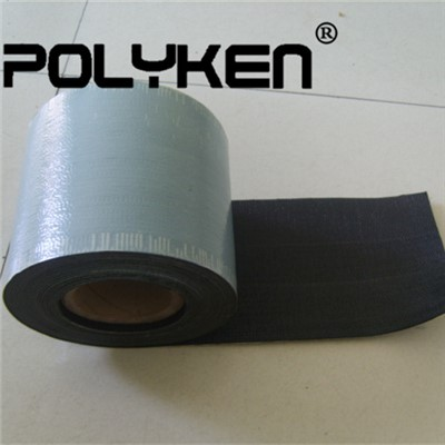 Cold Applied Waterproof Black Woven Polypropylene Coating Tape